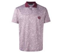 Jacquard-Poloshirt mit Kontrastkragen - men