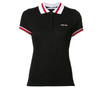 trimmed polo top