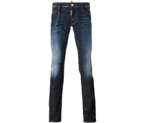 Sexy Boot bleached accent jeans