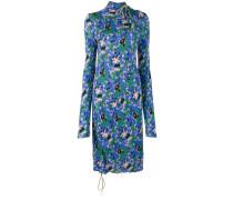 Mittellanges Jersey-Kleid