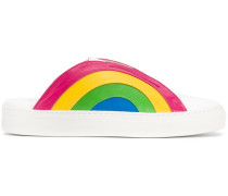 Slip-On-Sneakers mit Regenbogen - Unavailable