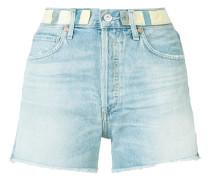 - Jeans-Shorts mit ausgefranstem Saum - women