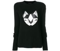 silver cat sweater