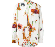 - Hemd mit buntem Print - men - Baumwolle - L