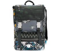 multi icon backpack