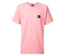 T-Shirt mit eckiger Stickerei