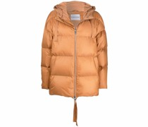 Adeline down-padded puffer coat
