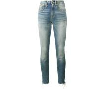 'Jenny' Jeans mit mittelhohem Bund