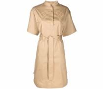 logo-graphic short-sleeve dress