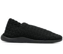 Sneakers mit Intrecciato-Muster