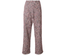 baggy fit tweed trousers