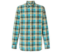 checked style shirt