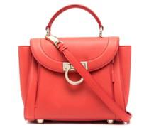 Kleine Handtasche mit Gancini-Detail