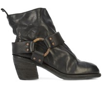 Stiefel mit mittelhohem Absatz