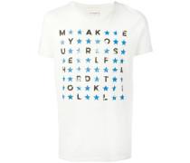 T-Shirt mit Slogan-Print - men - Baumwolle - XL