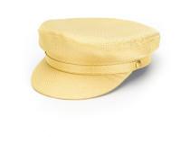 metallic baker boy hat