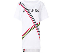 tri-stripe logo T-shirt dress