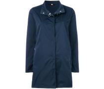 standing collar midi coat
