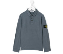 Poloshirt mit Logo-Patch - kids