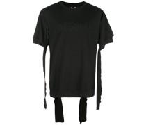 """T-Shirt mit """"Some Real...""""-Schriftzug"""