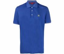 Poloshirt mit aufgesticktem Logo