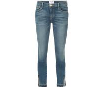Le Skinny raw triangle cut jeans