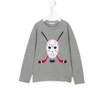 Sweatshirt mit Golfschläger-Print