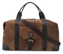 large buckled holdall