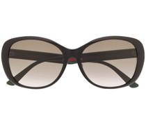 Sonnenbrille mit Web-Streifen