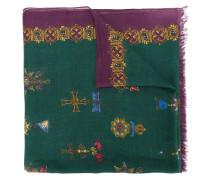 Royal print scarf