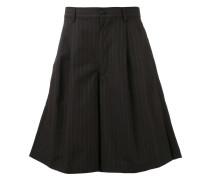 pinstriped wide-leg shorts - men - Baumwolle - L