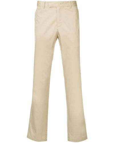 straight leg drill trousers