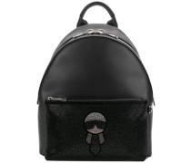 crystal Karl backpack