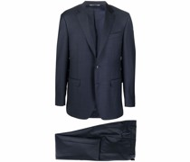 single-breasted tailored suit