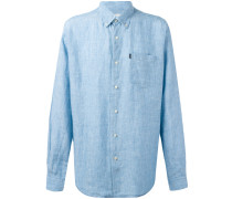 'Frank' Button-down-Leinenhemd - men