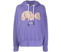 Kapuzen-Pullover mit Teddy