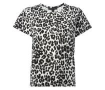 - T-Shirt mit Leoparden-Print - women - Baumwolle