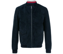 stand up collar jacket - men - Wolle - 48
