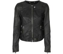 front zipped jacket