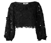 - Bestickte Bluse - women - Seide/Nylon/Polyester