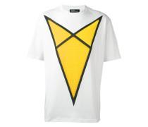 T-Shirt mit Pfeil-Print