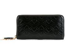 Big Bisou embossed wallet