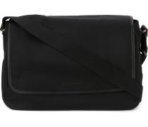 fold over trim detail messenger bag