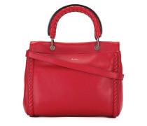 Handtasche mit runden Henkeln