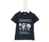 - T-Shirt mit Raubkatzen-Print - kids