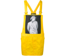 Latzhose mit Print - men - Baumwolle/Polyester