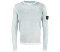 Pullover mit Patch - men - Baumwolle - L