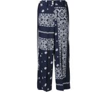 bandana print trousers