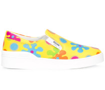 'Flower Power' Slip-On-Sneakers