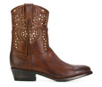 embellished cowboy boots